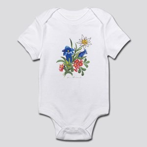 Alpine Flowers Infant Bodysuit