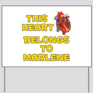 This Heart: Marlene (A) Yard Sign