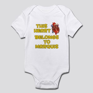 This Heart: Marquis (A) Infant Bodysuit