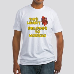 This Heart: Marsha (A) Fitted T-Shirt