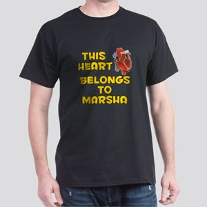 This Heart: Marsha (A) Dark T-Shirt