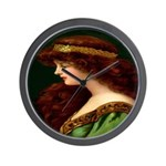 Irish Princess Wall Clock