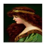 Irish Princess Tile Coaster