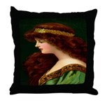 Irish Princess Throw Pillow