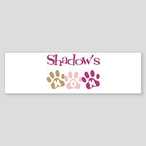 Shadow's Mom Bumper Sticker