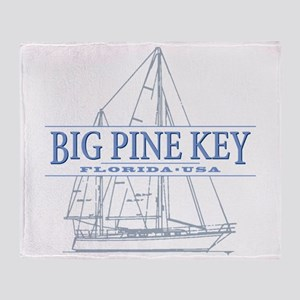 Big Pine Key Throw Blanket