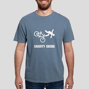 Gravity Sucks Bike White T-Shirt