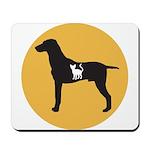 Dog eat Cat Mousepad