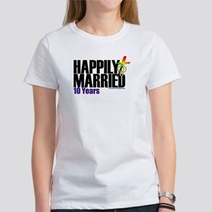 Happily Married Women's T-Shirt