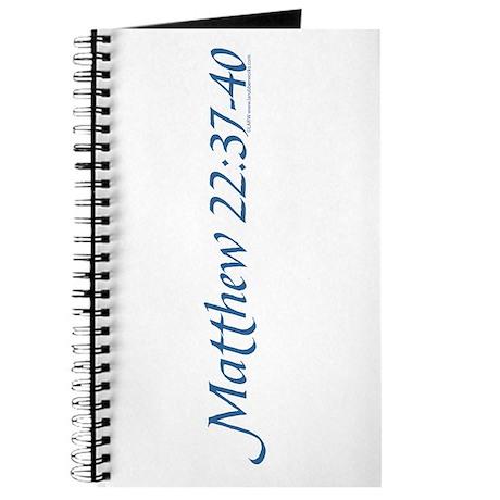 Matthew 22:37-40 Journal