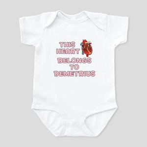 This Heart: Demetrius (C) Infant Bodysuit