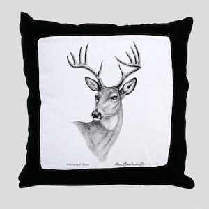 Whitetail Deer ~ Throw Pillow