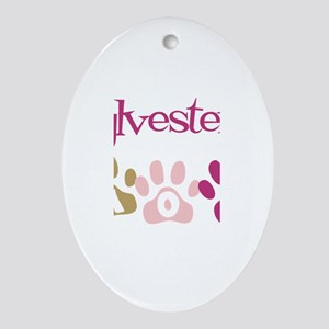 Sylvester's Mom Oval Ornament