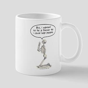 Med Student Skeleton Prayer Mug