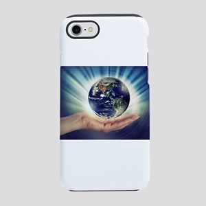 World in Our Hands iPhone 8/7 Tough Case