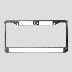 World in Our Hands License Plate Frame