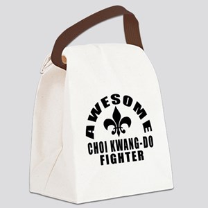 Awesome Choi Kwang Do Fighter Canvas Lunch Bag