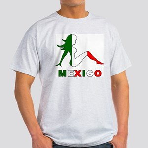 Mexican Mud Flap Girl Light T-Shirt