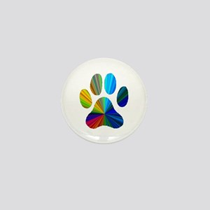 PAW PRINT Mini Button