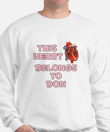 This Heart: Don (C) Sweatshirt