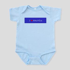 I Love America Infant Creeper