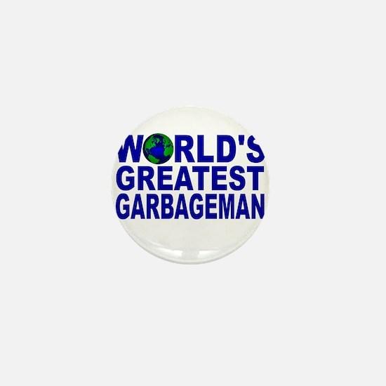 World's Greatest Garbageman Mini Button
