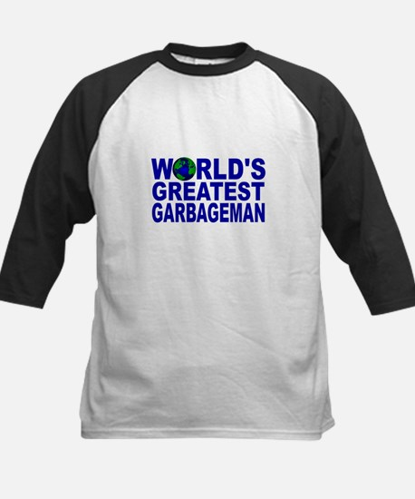 World's Greatest Garbageman Kids Baseball Jersey