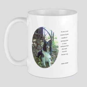 Carpet of Pine Needles Shelti Mug