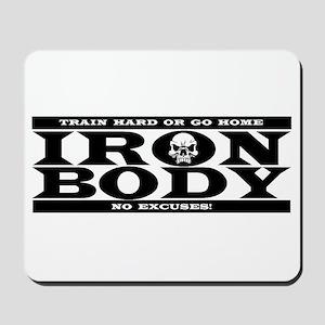 Train Hard Mousepad