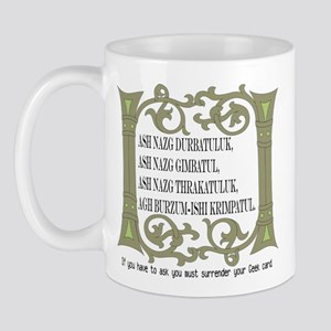 Black Speech Mug