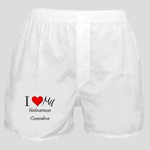 I Heart My Vietnamese Grandma Boxer Shorts