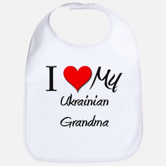 I Heart My Ukrainian Grandma Bib