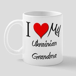 I Heart My Ukrainian Grandma Mug