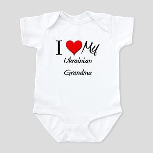 I Heart My Ukrainian Grandma Infant Bodysuit