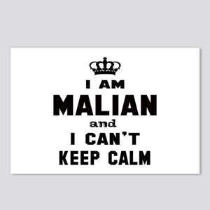 I am Malian and I can't k Postcards (Package of 8)