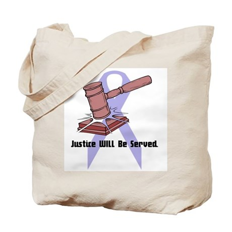 Domestic Violence Justice Tote Bag