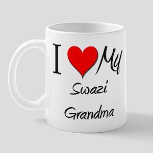 I Heart My Swazi Grandma Mug