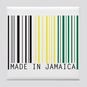 made in jamaica Tile Coaster