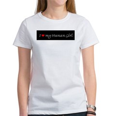 I Love My Hunan Girl Women's T-Shirt