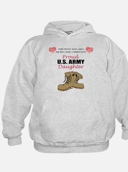 Proud US Army Daughter Hoody