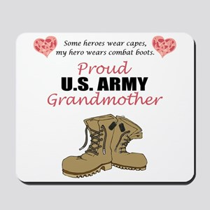 Proud US Army Grandmother Mousepad