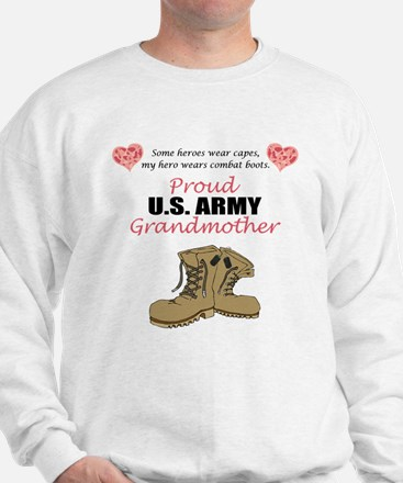 Proud US Army Grandmother Jumper