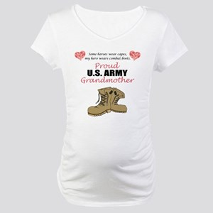 Proud US Army Grandmother Maternity T-Shirt