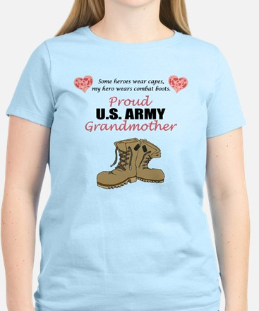 Proud US Army Grandmother Women's Light T-Shirt