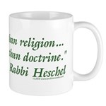 God is Greater than Religion Mug