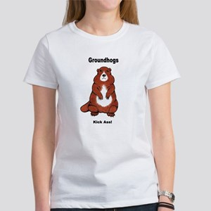 Groundhogs Kick Ass Women's T-Shirt