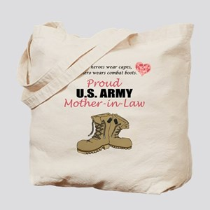 Proud US Army Mother-In-Law Tote Bag