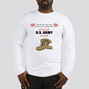 Proud US Army Aunt Long Sleeve T-Shirt