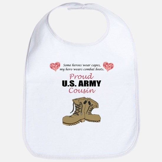 Proud US Army Cousin Bib