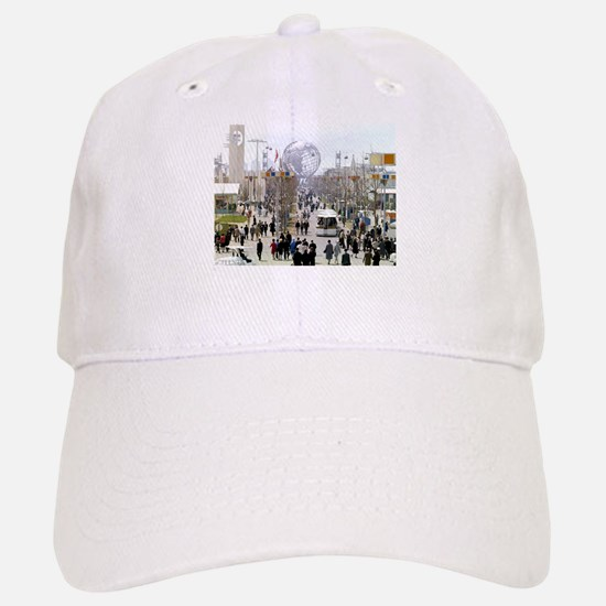 1964 World's Fair/Unisphere Baseball Baseball Cap
